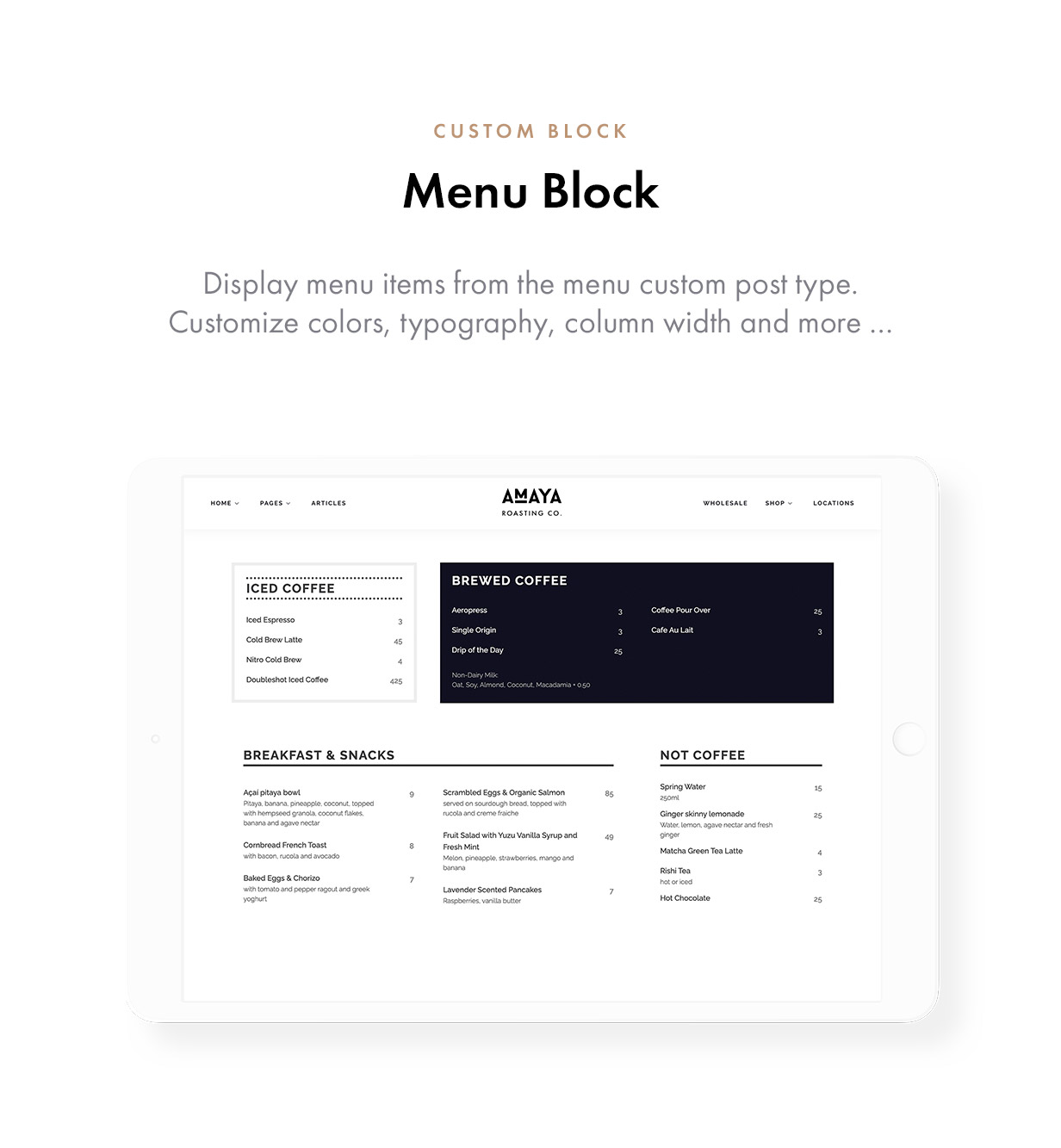 Coffee Bean - Cafe, Coffee Shop, Roastery & Bakery WordPress Theme - 5